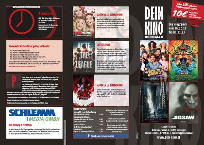 Premium-Kinoflyer Dormagen