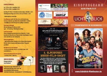 Premium-Kinoflyer Oldenburg