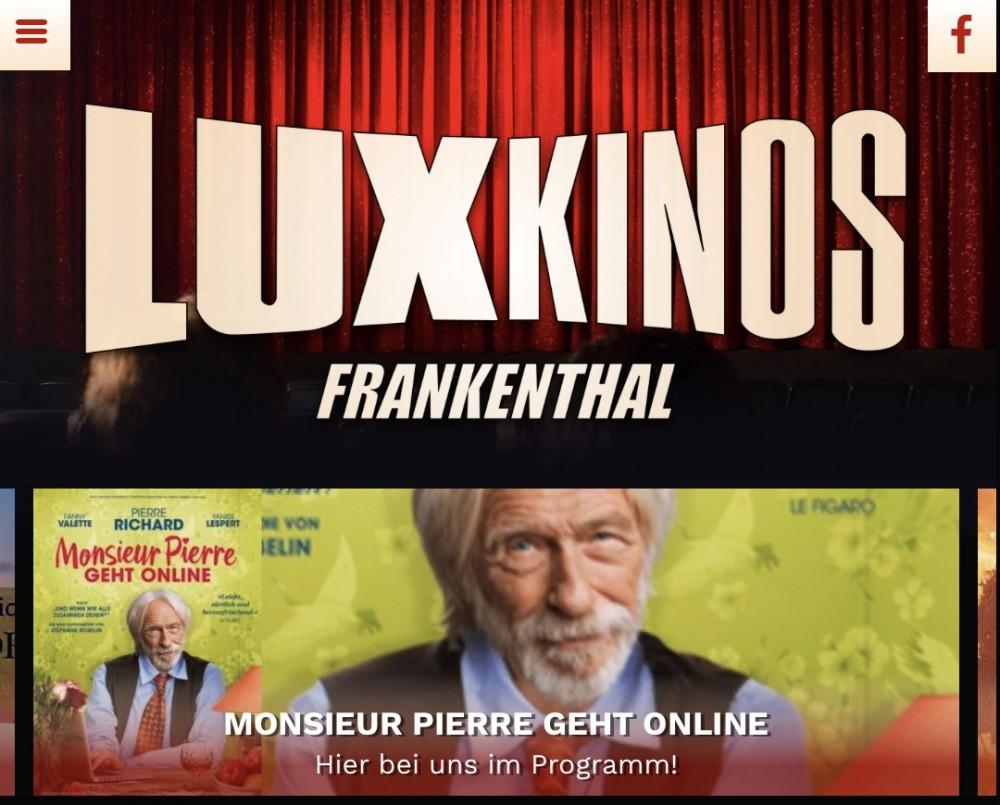 Dreizehn weitere Kinos mit website.plus 2.0 online